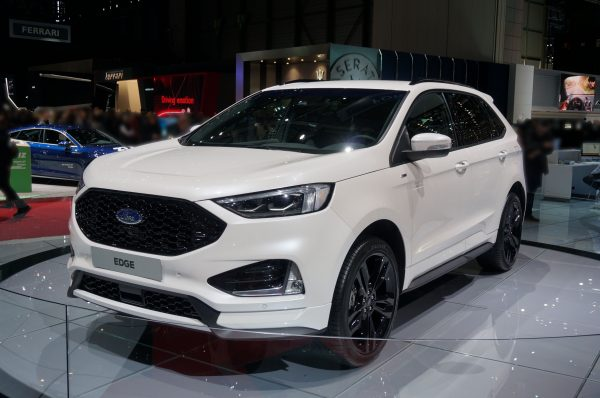 Ford Edge Facelift Genfer Automobilsalon 2018