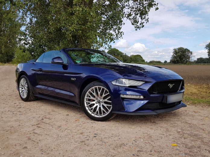 Ford Mustang 5.0 Cabriolet